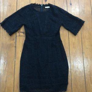Rebecca Taylor Black dress